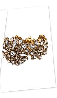 Erickson Beamon Great Expectations Bracelet