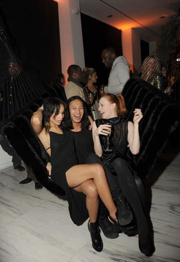 Alexander Wang Housewarming Party rent the Runway Fashion Week