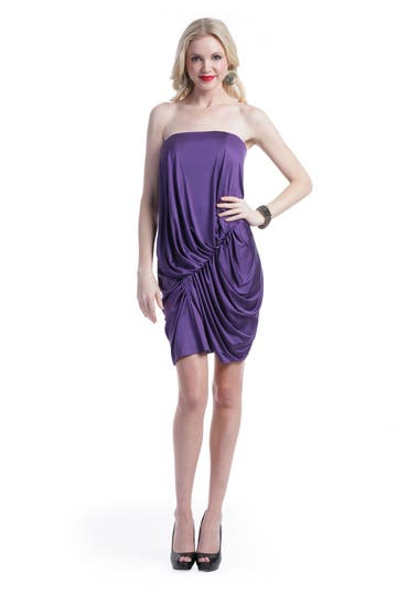Angel Sanchez Violet Storm Dress
