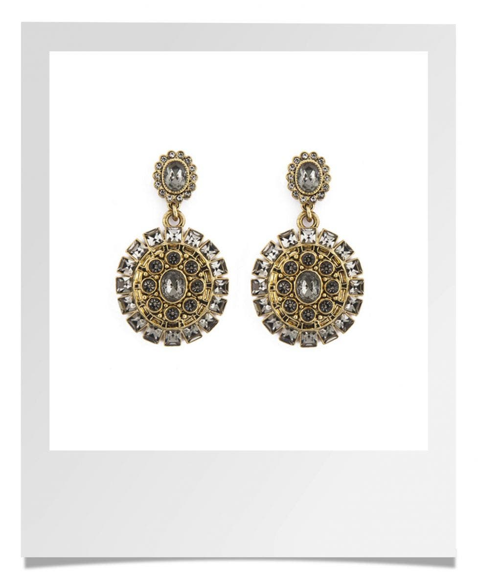 Badgley Mischka Dramatic Drop Earrings Rent the Runway