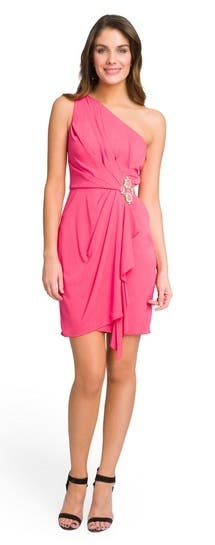 Badgley Mischka Mega Magenta Dress