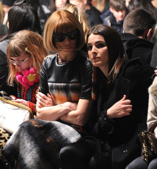 Band of Outsiders Fashion Show Anna Wintour Rent the Runway