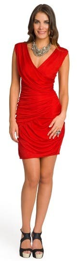 Black Halo red Carpet Dress