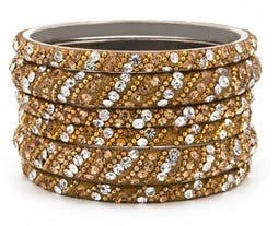 Chamak Gold Glitz Bangle Set