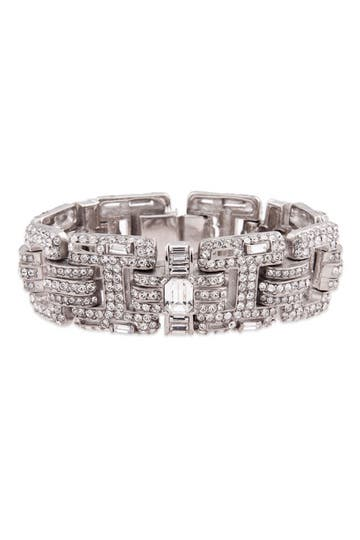 Ciner Clear Stone Bracelet Rent the Runway