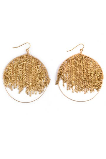 Citrine by the Stones Gold Rain Earrings Rent the Runway