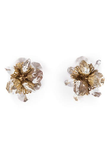 Citrine by the Stones Lovely Bouquet Earrings Rent the Runway