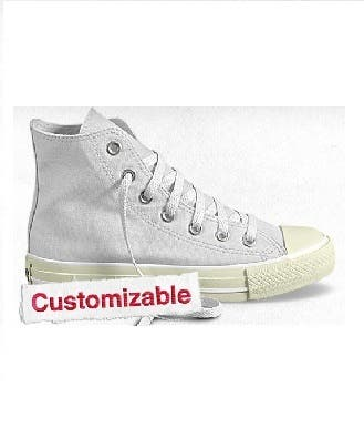 Custom Converse Sneakers Rent the Runway