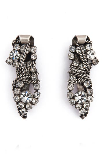 Dannijo Finley Earrings Rent the Runway