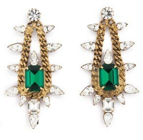 Elizabeth Cole Old School Glamour Earring