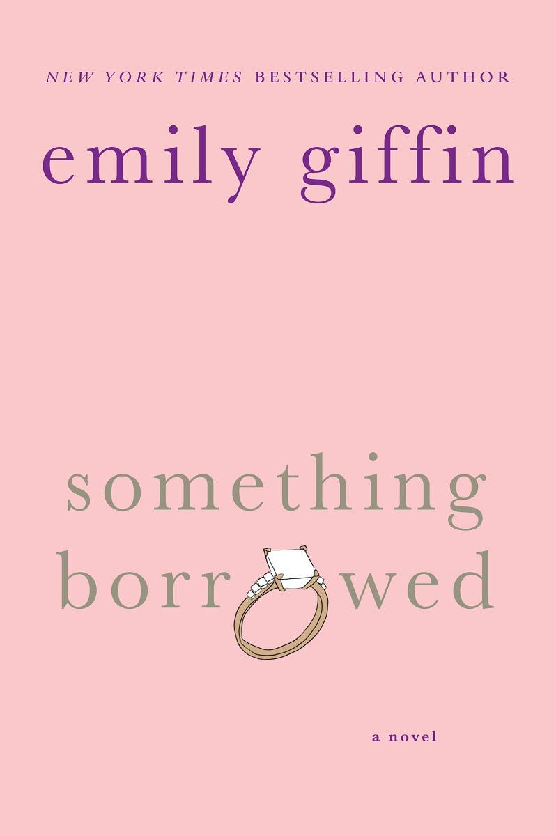 Emily Giffin Rent the Runway Something Borrowed
