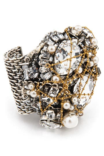 Erickson Beamon Glenda Mesh Bracelet Rent the Runway