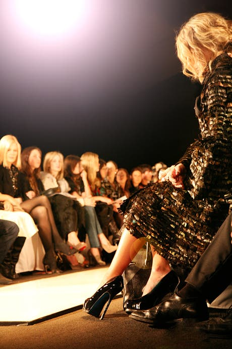 Fashion week shot Rent tehe Runway
