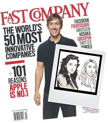 Fast Company Rent the Runway