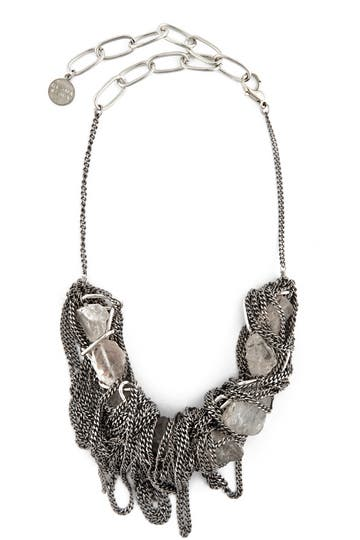 Gemma Redux Liz Rough Rock Necklace Rent the Runway