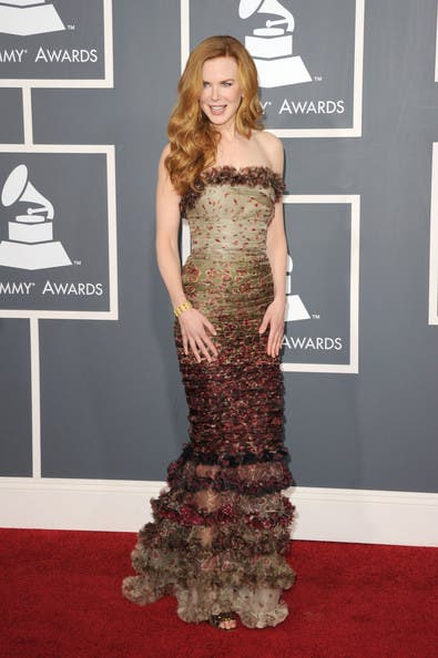Grammys Nicole Kidman Rent the Runway