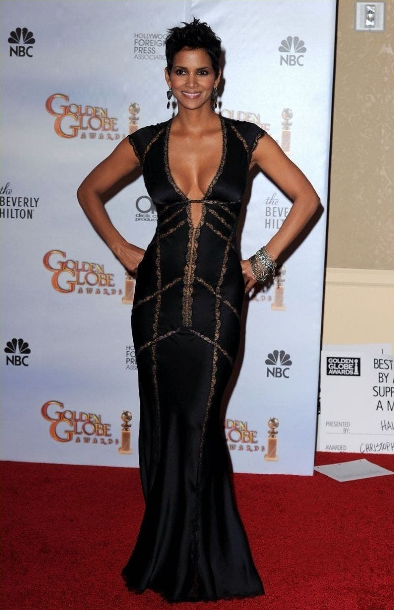 Halle Berry Red Carpet Fashion Rent the Runway