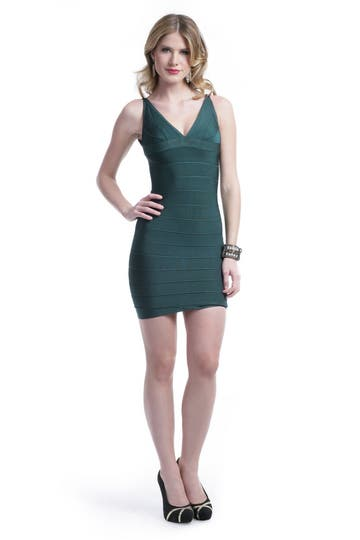 Herve Leger Leaf Him Behind Dress Rent the Runway
