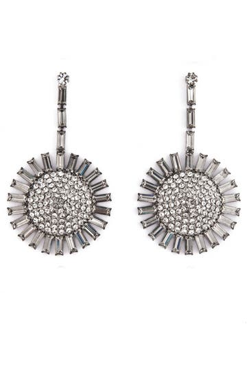 Janis Savitt Crystal Sunshine Earrings Rent the Runway