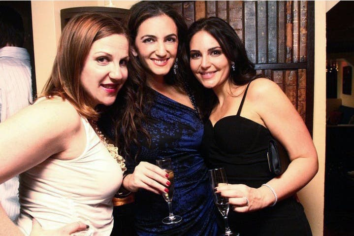 Jenn Hyman Laila Azhar Rent the Runway Holiday Dress Party