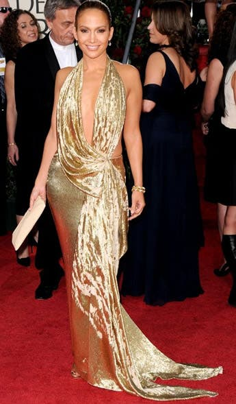 Jennifer Lopez Rent the Runway