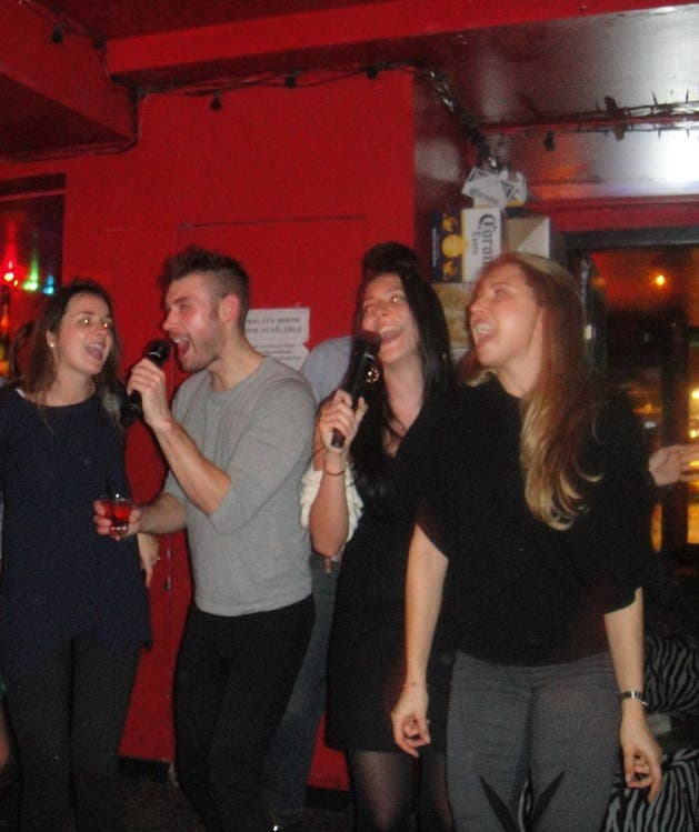 Karaoke Night Rent the Runway