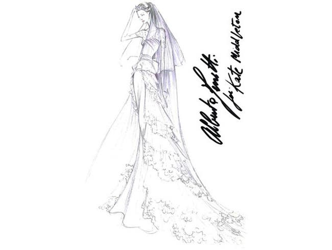 Alberta Ferretti Wedding Dress Kate Middleton Rent the Runway