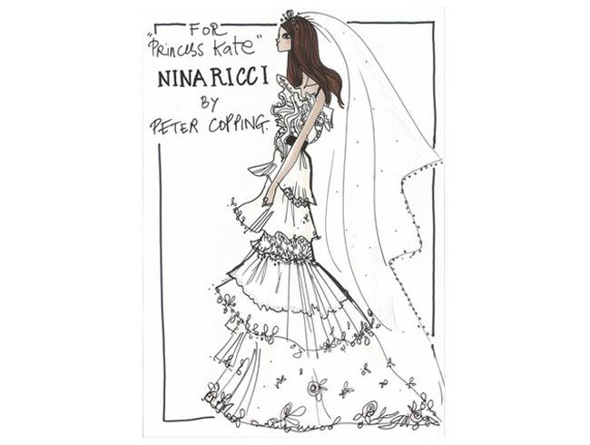 Nina Ricci Kate Middleton Wedding Dress