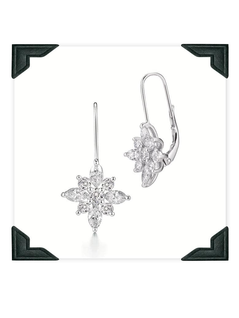 Kwiat Wedding Earrings Rent the Runway Weddings