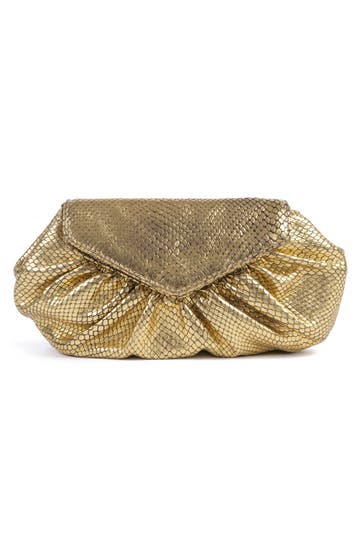 Lauren Merkin King Cobra Clutch