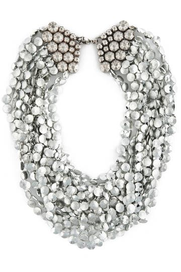Lee Angel Silver Etienne Necklace Rent the Runway