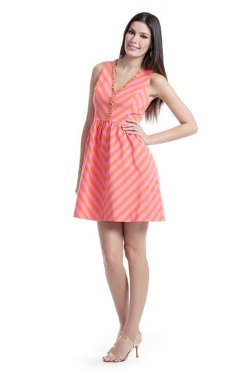 Lilly Pulitzer Citrus Candy Cane Dress Rent the Runway