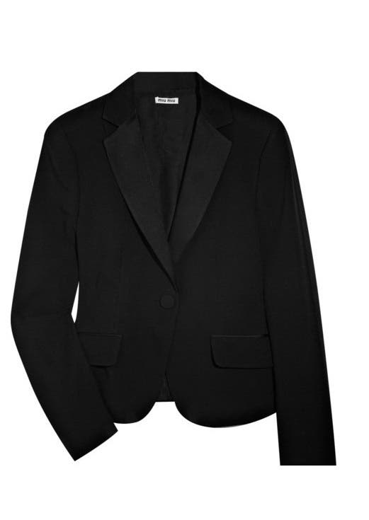 Miu Miu Blazer Rent the Runway