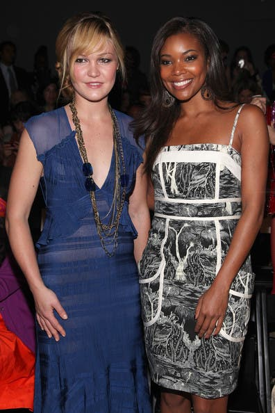Rent the Runway Tracy Reese Fashion Show Kirsten Dunst Gabrielle Union