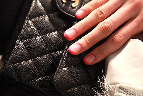 Rent the Runway Nails at Tibi