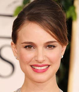 Natalie Portman Golden Globes Rent the Runway