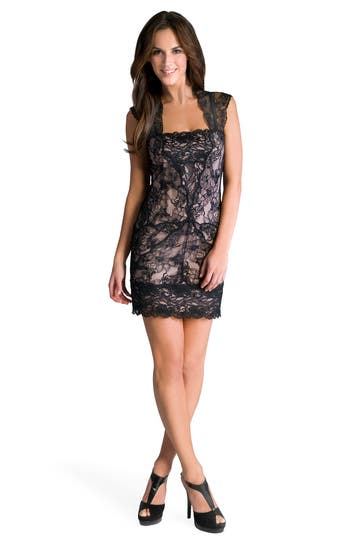 Nicole Miller Pretty Woman Lace Dress Rent the Runway