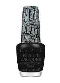 OPI Black Splatter Nail Color Katy Perry Collection