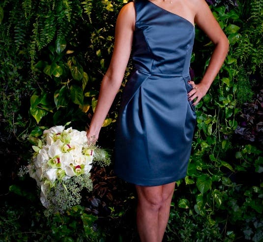 Ovando Weddings Rent the Runway Bridesmaid Dresses and Bouquets