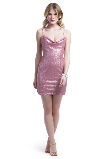 Peter Soronen Strawberry Sequins Sheath Rent the Runwayq