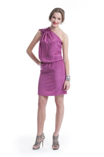 Philosophy Di Alberta Ferretti Magenta Fever Dress Rent the Runway