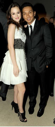 Prabal Gurung CFDA Awards 2010 Leighton Meester