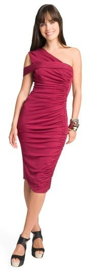 Rachel Roy Lipstained Stretch Dress