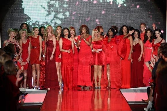 Red Dress Show Rent the Runway