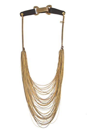 Rodrigo Otazu Saddle Back Chain Necklace Rent the Runway