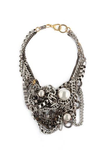 Subversive Silver Sunken Treasure Necklace Rent the Runway