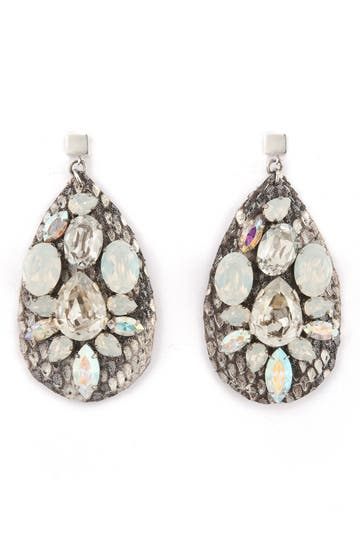 Ted Rossi Python Drop Earrings Rent the Runway