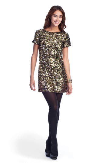 Tibi Confetti Sequins Dress Rent the Runway