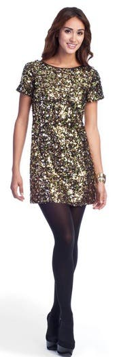 Tibi Confetti Sequins Dress
