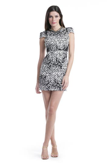 Tibi Snow Leopard Dress Rent the Runway